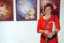 Miroslava Rychtářová. Opavská výtvarnice patří mezi členy Skupiny X. Díla představila na desítce výstav.