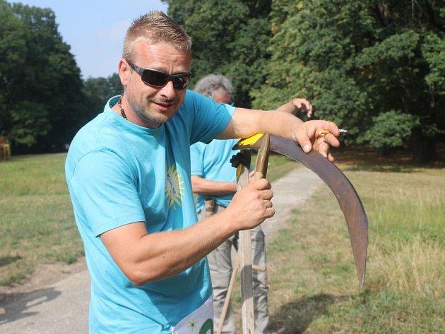 V srpnu se pravidelně v Dobroslavicích koná tzv. Dobroslavické kosení, jehož pátý ročník byl na programu o tomto víkendu.