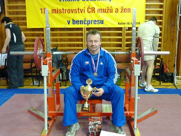 Jiří Kati po vítězném závodě.
