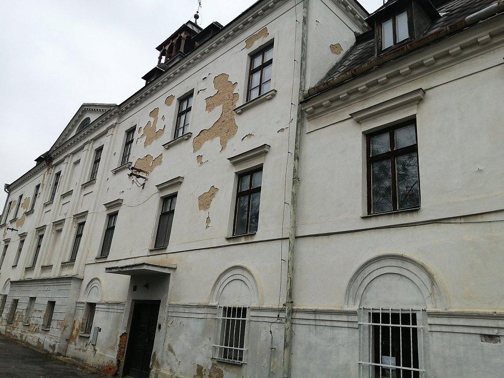 Stěbořický zámek.