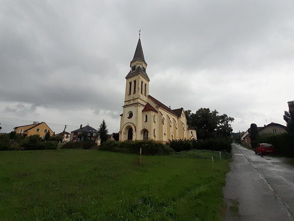 Kostel sv. Valentina.