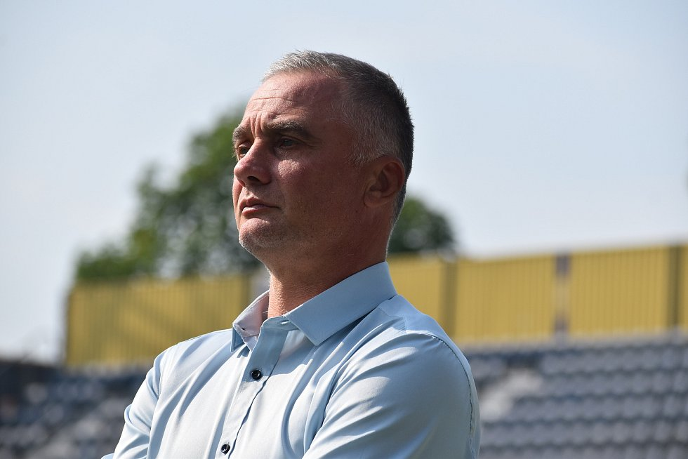 Nový sportovní ředitel SFC Opava Jaroslav Kolinek. Foto: Eliška Žídková