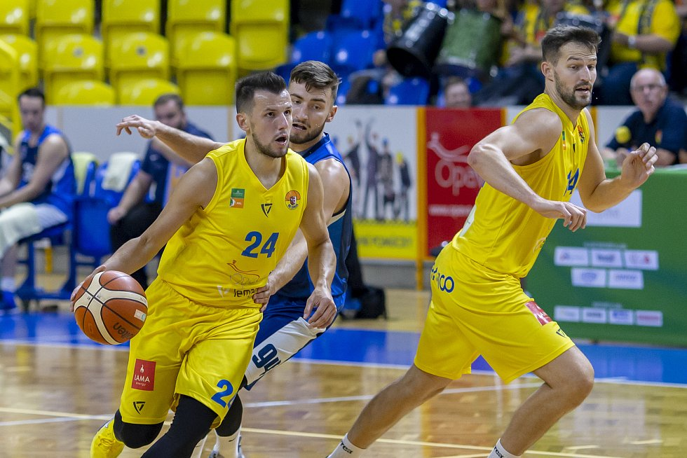 Kapitán a rozehrávač opavských basketbalistů Jakub Šiřina.
