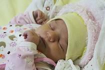 """Valentýna Ribková se narodila 29. listopadu, vážila 3,65 kg a měřila 49 cm. """"Malé přejeme do života především zdravíčko, aby byla moc šťastná a spokojená,"""" popřáli rodiče Radka a Jan Ribkovi z Velkých Hoštic. Doma už se na miminko těší sestřička Vendulka."""