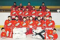 Hokejisté páté třídy Slezanu Opava