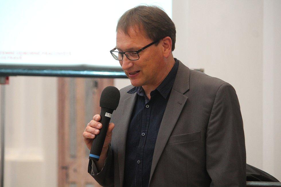 Ředitel Národního památkového ústavu v Ostravě Michal Zezula.
