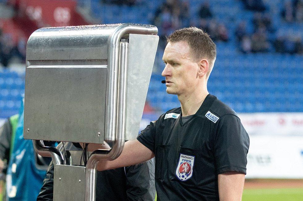 Utkání 18. kola fotbalové Fortuna ligy: FC Baník Ostrava - SFC Opava, 29. listopadu 2019 v Ostravě.