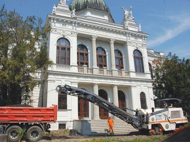 Výstavní budova Slezského zemského muzea. Ilustrační foto.
