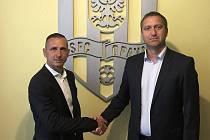Zdeněk Pospěch (vlevo) se vrátil do SFC
