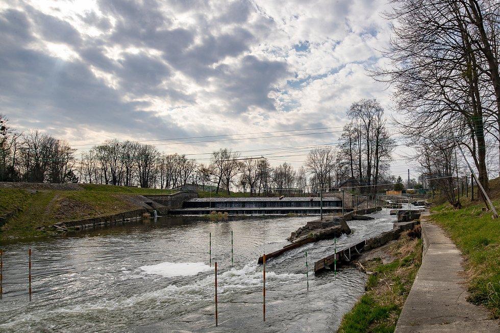 Stříbrné jezero v Opavě. Ilustrační foto.