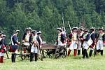Sobotní rekonstrukce bitvy u Guntramovic.