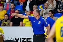 Kouč basketbalové Opavy Petr Czudek