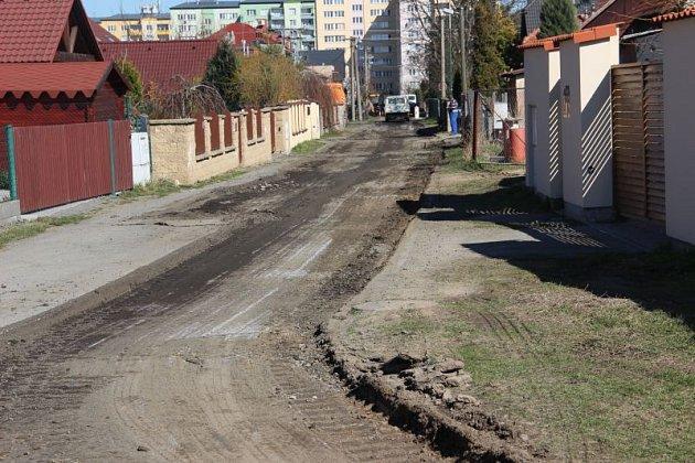 Rekonstrukce ulic vKylešovicích vpondělí začala. Potrvá do září.