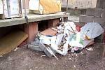 Ubytovna na Janské ulici v Opavě. Březen 2008.
