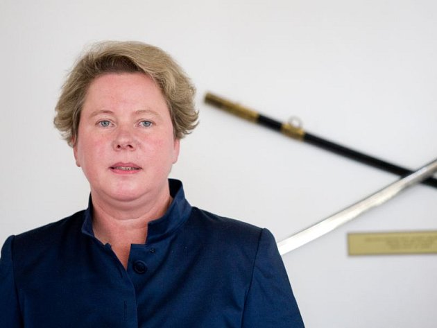 Opavská radnice byla ve čtvrtek tak trochu nohama vzhůru. Očekávala výjimečnou návštěvu. Přijela velvyslankyně Lichtenštejnského knížectví a blízká příbuzná panovníka knížete Jana Adama II. Maria-Pia Kothbauer.