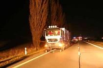 K tragédii došlo v úterý asi deset minut před půl osmou večerní na silnici I/57.