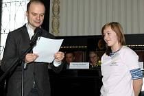Kristýna Heczková měla ze svého ocenění radost.