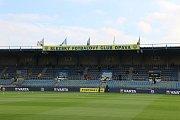 Stadion v Městských sadech už je připraven na očekávané derby
