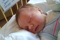 Max Jaroš se narodil 2. října, vážil 3,83 kg a měřil 54 cm.