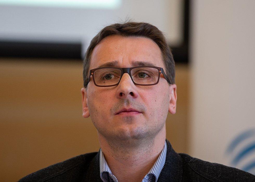 Setkání Sdružení obcí Hlučínska, 17. dubna 2019 v Kravařích. Na snímku metoděj Chrástecký.