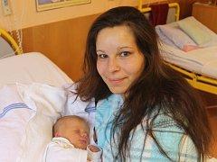 Dominik Macíček se narodil 21. října, vážil 2,84 kg a měřil 48 cm. Rodiče Markéta a Jaroslav z Vítkova přejí svému prvnímu dítěti do života hlavně zdraví a štěstí.