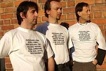 Tito muži v triku se představí na nové výstavě v Opavě.