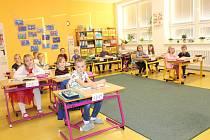 Žáci 1. třídy.