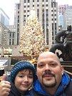 KAREL VÁLEK se synem se během vánočních svátků podíval do New Yorku.