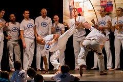 Ukázka bojového umění Capoeira,páskování nových a stávajících členů.Kulturní dům na Rybníčku Opava