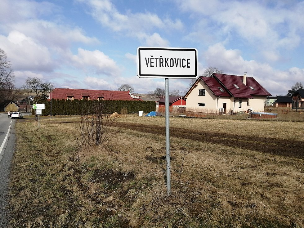 Obec Větřkovice.