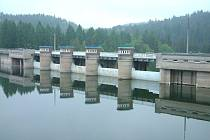 Kružberská přehrada, středa 19. května