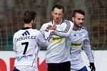 Marián KOVAŘÍK, fotbalový útočník, hájí v jarní části barvy divizního nováčka z Bruntálu.