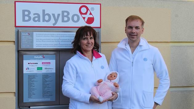 Nový babybox ve Slezské nemocnici.