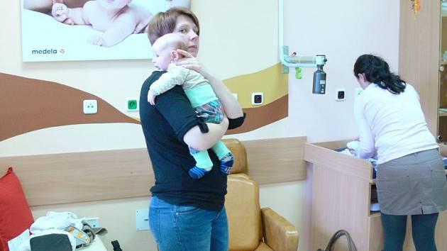 Poradnu už maminky s dětmi využívají.
