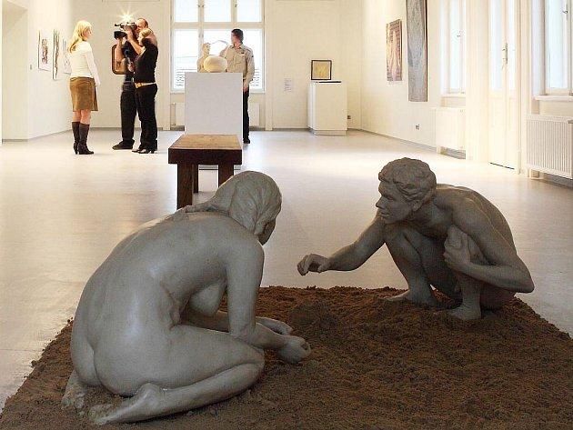 Galerie Obecního domu dává vyniknout uměleckým dílům.