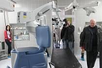Oční oddělení Slezské nemocnice v Opavě. Ilustrační foto.