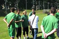 Dopoledním tréninkem začal ve čtvrtek druholigový Hlučín s přípravou na nový soutěžní ročník.
