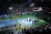 Ceremoniál vítězů.