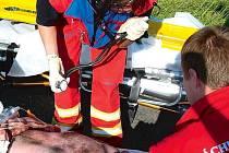 Před příjezdem záchranářů může laickým zachráncům velmi pomoci dobře vybavená lékárnička.