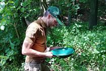 Jan Čmelík se zlatokopectví věnuje zhruba čtyři roky.