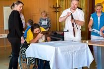 Areál Centra sociálních služeb pro tělesně postižené v Hrabyni hostil historicky první ročník závodu Ostravar Biatlon Plus.