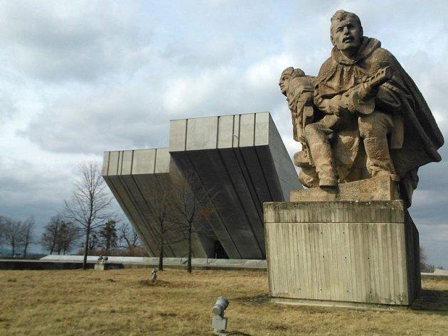 Národní památník II. světové války vHrabyni. Ilustrační foto.