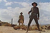 Slavný spaghetti-western Tenkrát na Západě italského režiséra Sergia Leoneho z roku 1968.