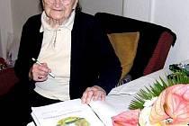 Paní Chorovská ve středu 22. února slaví neuvěřitelných sto let.