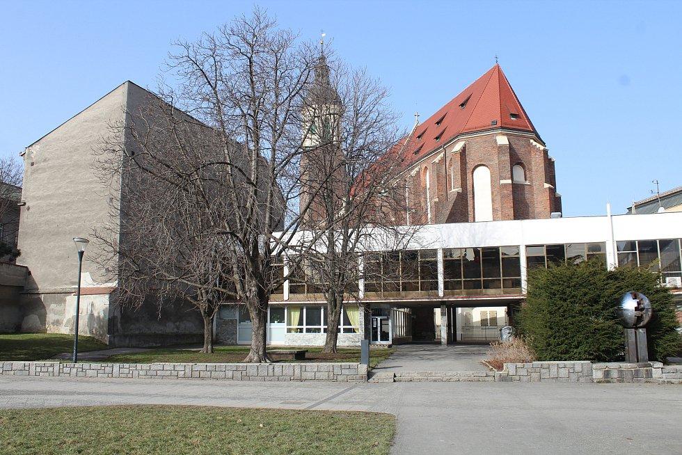 Bývalý obchodní sům Slezanka v centru Opavy.