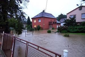 Šilheřovice, 5. srpna 2021 - snímek od Kateřiny Jauernigové.