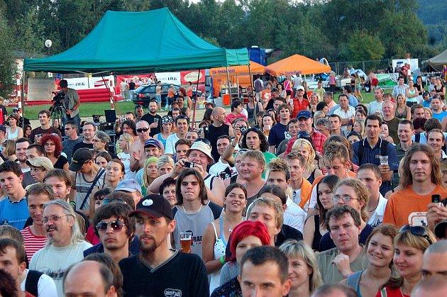 Festival Štěrkovna Open Music loni navštívilo přes 8500 lidí.