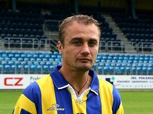 Kapitán Slezského FC Opava Jaroslav Kolínek.