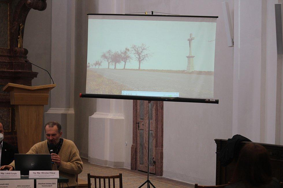 Vedoucí odboru dotačních projektů a církevní turistiky biskupství Miroslav Přikryl.