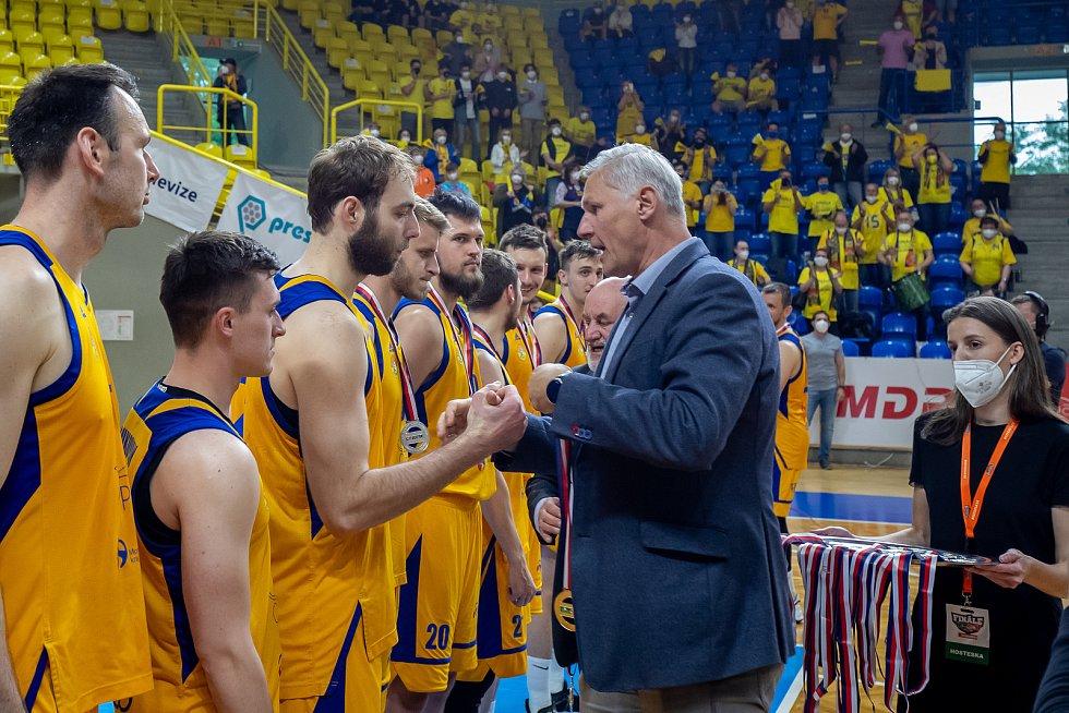 Basketbalisté BK Opava jsou vicemistry republiky.